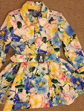 Ralph Lauren Cloak Mac Flowers Size 5 for 4-5 Years Old NEW