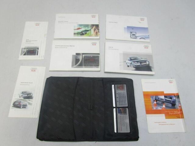 AUDI A4 (8EC, B7) Bedienungsanleitung Bordmappe Bordbuch