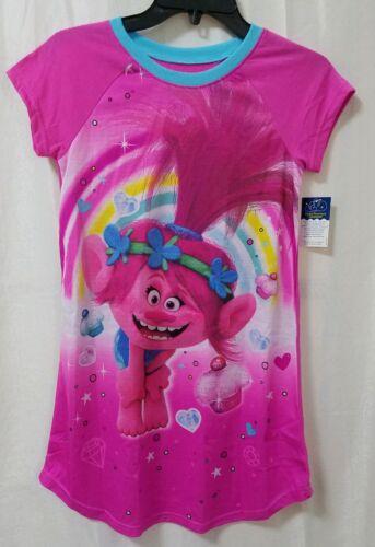 Size Large 10//12 Trolls Poppy Sleep Wear Gown