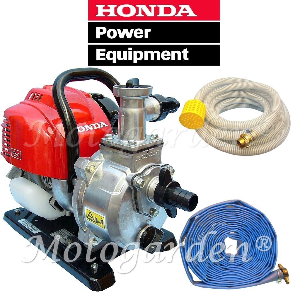 vendita con alto sconto Motopompa Honda WX10 T fino 140 litri al al al minuto per irrigazione completa di tubi  clienti prima reputazione prima