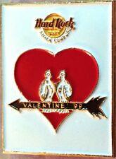 Hard Rock Cafe KUALA LUMPUR 1999 Valentine's Day PIN Doves Heart Arrow HRC #4286