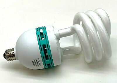 Nedco Sbs 55 Watt Fluorescent Photo Lamp Light Bulb 2700k 55w Medium Base Ebay