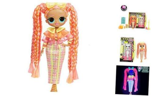 Lights Dazzle Fashion Doll with 15 Surprises O.M.G Surprise L.O.L