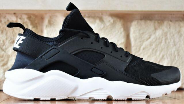 Nike Air Huarache Run Ultra - New Men's Black White Shoes Sneakers 819685  016