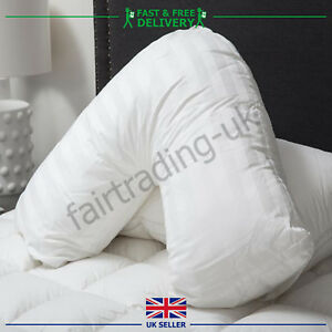V Shaped Pillow Nursing Pregnancy Neck