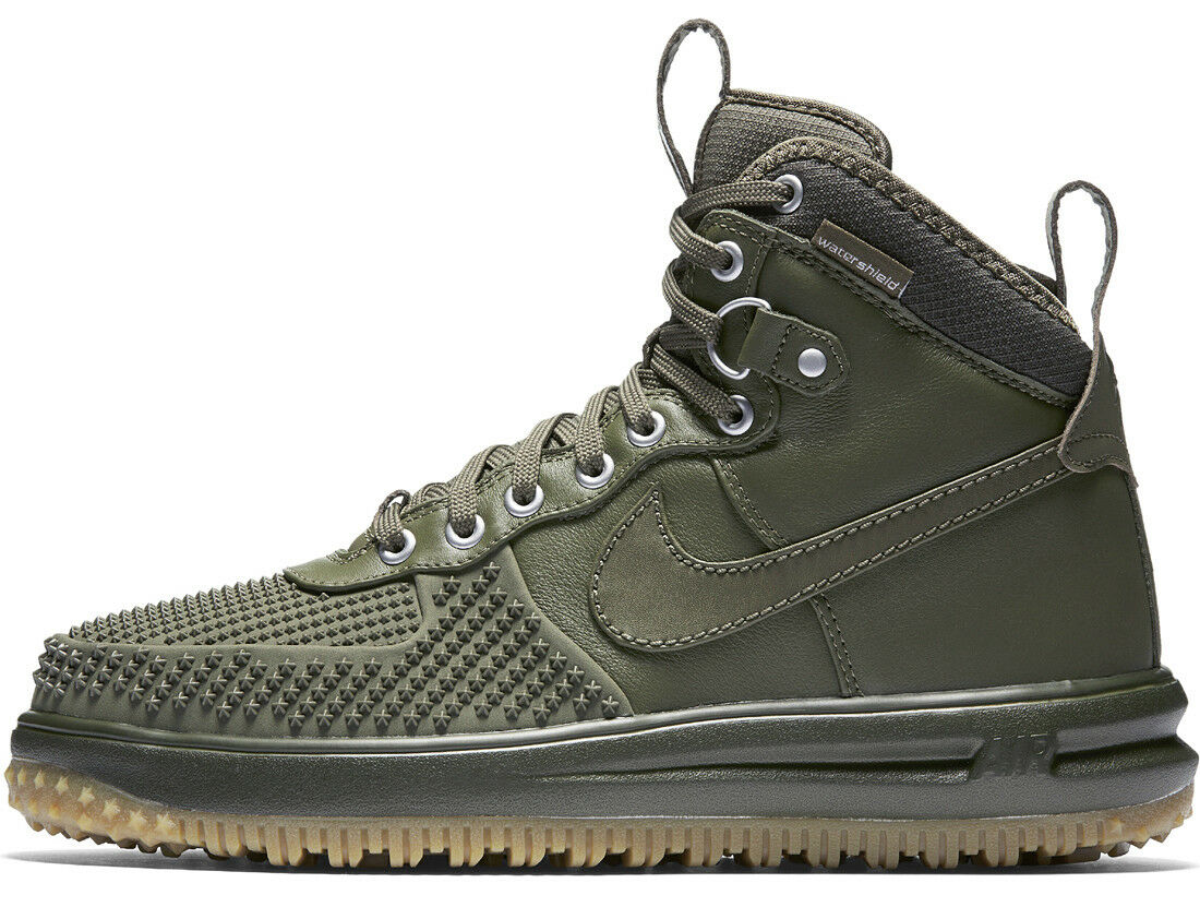 NIKE LUNAR FORCE 1 DUCKBOOT MEDIUM OLIVE Gr.39 flyknit 40 42 air 805899-201 flyknit Gr.39 acg 53ebbe
