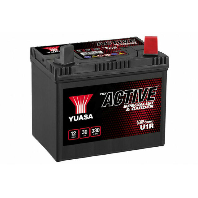 Batterie tondeuse YUASA U1R 895 12V 30H 270A