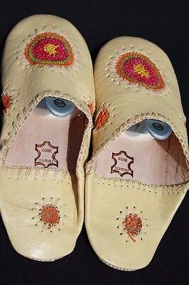 Orientalische Lederschuhe Pantoffel Schuhe Marokkanische Lederschuhe Babouche