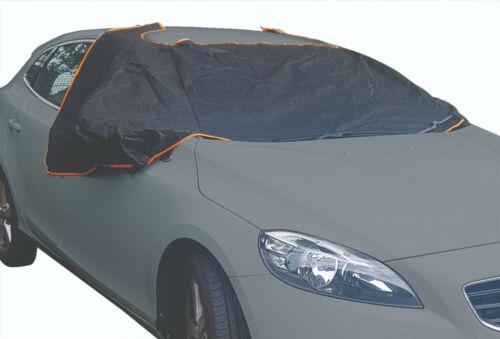 Ice /& Winter Protection Magnetic Windscreen Cover Car Windsheild Frost BLACK