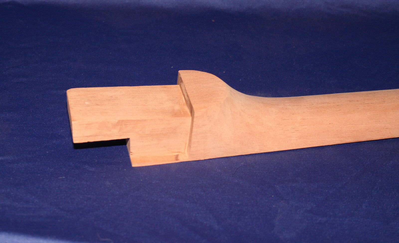 Neck Blank Thin Hollow BodyModel300 17deg.hdsk x 4 deg nk.jt. Honduras Mahogany