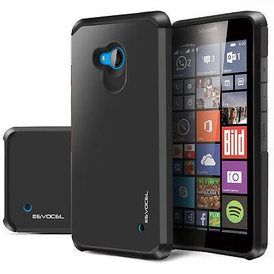 Nokia Lumia 640 Case, Evocel® Dual Layer Armor Protector Case (Lumia 640)