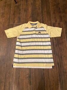 Nike-Air-Mens-Striped-S-S-Polo-Shirt-XL