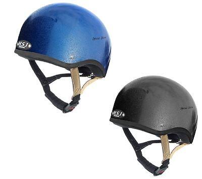 Gatehouse Hs1 Special Edition Jockey Unisex Safety Wear Riding Skull Blue