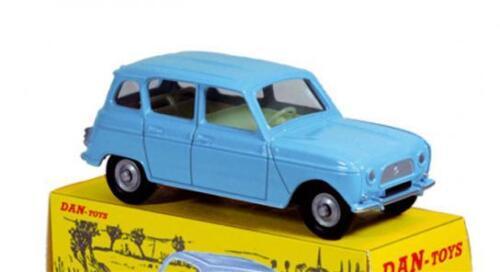 Dan-Toys Renault 4L Bleu Espagne  1//43 DAN 051