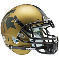 MICHIGAN STATE SPARTANS GOLD SCHUTT XP AUTHENTIC FOOTBALL HELMET