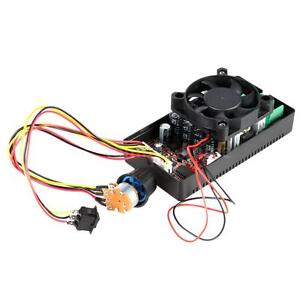 H-Bridge DC Motor Speed PWM Controller With Reversing Switch Braking Fan K6V4