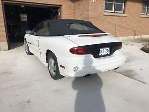 2000 Pontiac Sunfire GT Convertible