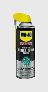 WD-40-Specialist-Protective-WHITE-LITHIUM-GREASE-Lubricant-Lube-10-Oz-300240-NEW