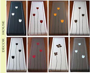 Table Runner Tablecloth Decorative Tulips cotton Bedroom Dining Room Kitchen - Myslenice, Polska - Zwroty są przyjmowane - Myslenice, Polska