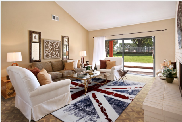 Union Jack Area Rugs Anti Skid Rug