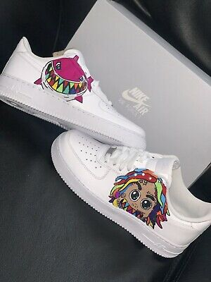Custom Air Force 1 Size 8.5 Brand New
