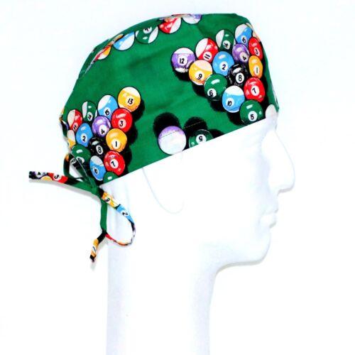 Billiards Ball Theme Scrub Hat