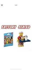 Unopened LEGO Hot Dog Vendor #71018 Minifigures Series 17 NEW hotdog food