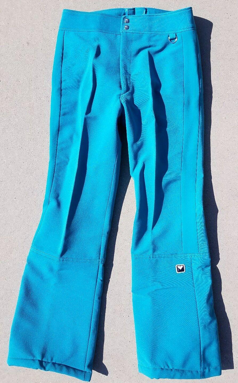 Obermeyer Snowboarding Ski Stretch  Stirrup Wool Blend Pants Vtg Women's 12  sale online discount low price