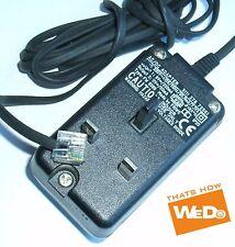 Adaptador de corriente AC/DC FW 3399 9V/220mA 11V/60mA 3111 278 72561 enchufe de Reino Unido