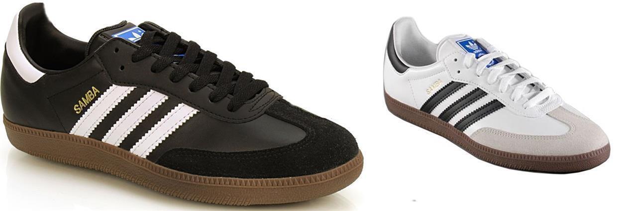 ADIDAS ORIGINALS SAMBA Hombre Zapatillas de piel piel piel G17100 G17102 negro   RU 6.5-13 c6269e