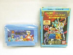 SAINT-SEIYA-Ogon-Densetsu-No-Instruction-068-Famicom-NINTENDO-fc