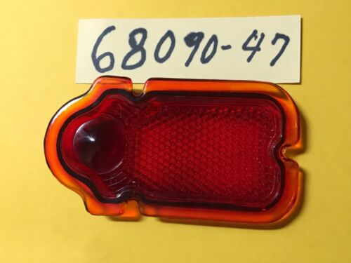 Harley 68090-47 old nu 5059-47 Tail lamp red 1947-1954 all models Tombstone
