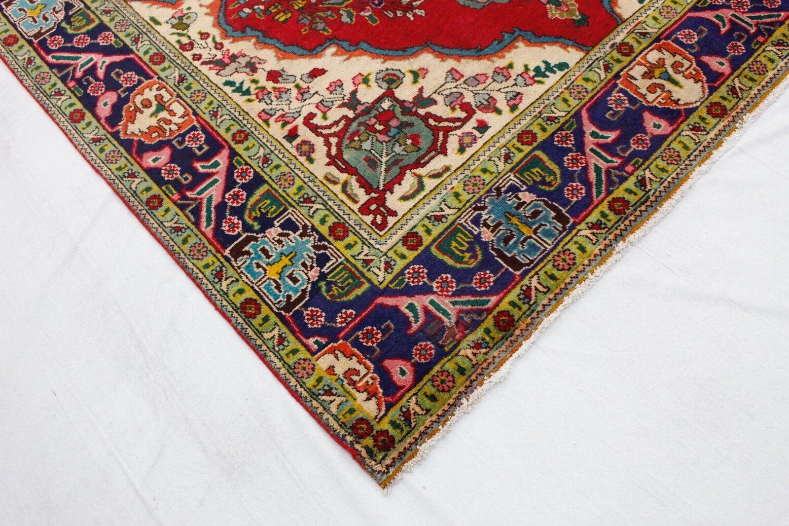 Magazzino Magazzino Magazzino vendita Tapis persan TÄBRIZ VINTAGE 310x200 mano intessuti pulito KL 3905 b2e52f