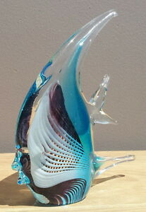 Blown glass angel fish - photo#4
