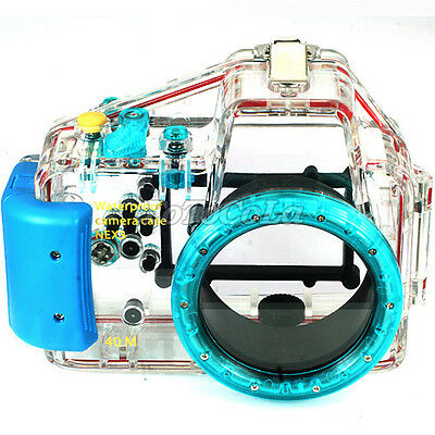 40M waterproof underwater camera housing case f Sony DSLR NEX-3 + 16mm f2.8 lens