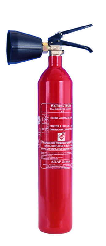 FIRE EXTINGUISHER 2KG CO2 greenICAL