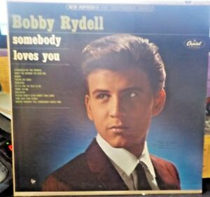 BOBBY-RYDELL-SOMEBODY-LOVES-YOU-ST2281-CAPITOL-LP-Vinyl-Record