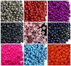 CHOOSE-COLOR-20g-4-0-5-1mm-Seed-Beads-Rocailles-Preciosa-Ornela-Czech-Glass