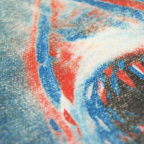 Caballeros oficial retro JAWS en furchterregendem 3d t shirt nuevo horror