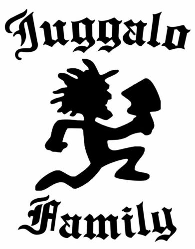 "Juggalo Family Hatchetman Funny Vinyl Decal Car Sticker Bumper Wall Laptop/_8.8/"""