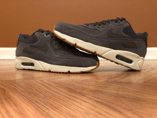 9e44594b68d51 New Men's 9.5 Nike Air Max 90 Ultra 2.0 LTR Gray Running Shoes 924447-004
