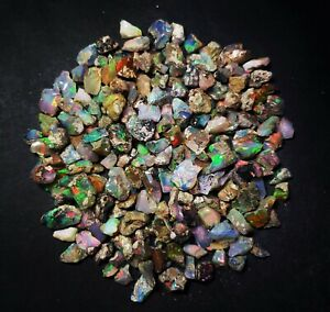 AAA-Quality-Natural-Ethiopian-Opal-Rough-Loose-Gemstone-Lot-10-pieces-6-8-MM