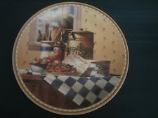 APPLE CRISP collector plate OLD-FASHIONED FAVORITES #1 Michael J Weber recipe