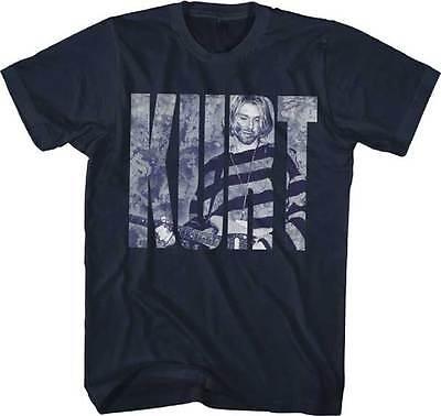 Photo Logo KURT COBAIN T SHIRT S-2XL New Nirvana Official Live Nation Merch