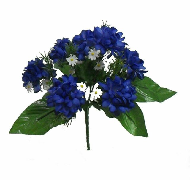 Wedding Flowers Navy Blue Silk Wedding Flowers
