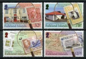 Falkland Islands Stamps-on-Stamps Stamps 2020 MNH Philatelic Study Group 4v Set