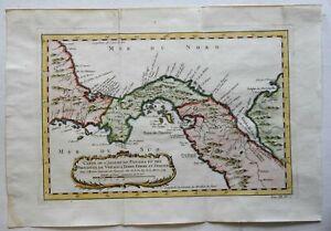Panama-Isthmus-Veraguas-Darien-Central-America-1754-Bellin-map
