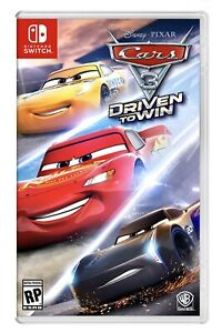 CARS 3 Driven to Win (Nintendo Switch) BRAND NEW FACTORY SEALED Disney Pixar