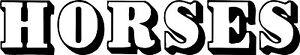 Chevaux Vinyle Graphique, Autocollant, Autocollant Pour Voiture/remorque-erfr-fr Afficher Le Titre D'origine Service Durable