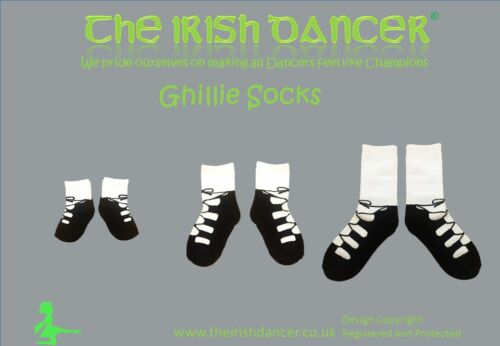Ghillie socks Irish Dancing